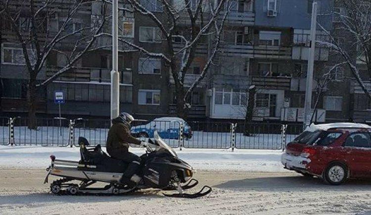 Димитър Велков: Общината да подари моторна шейна на всяко домакинство, след като не може да изчисти улиците