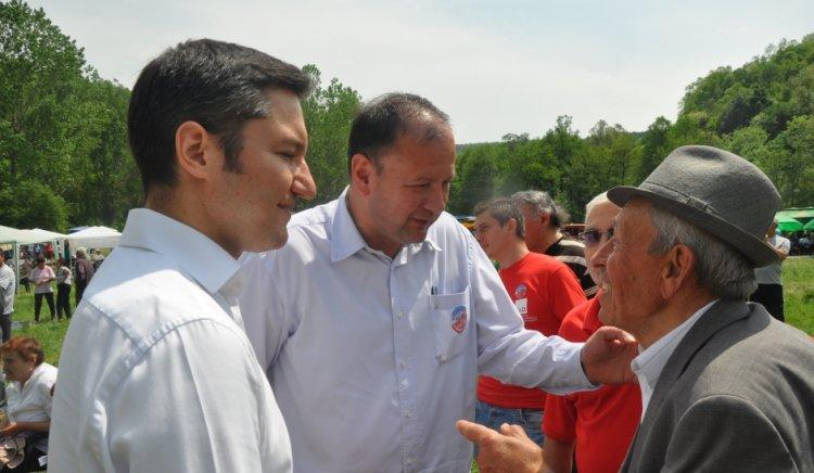 Социалистите в Бургас и Видин отбелязаха празника 6 май