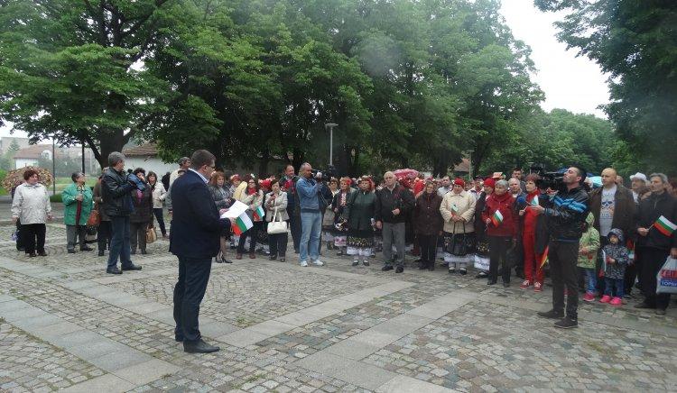 БСП-Видин отбеляза деня на труда с митинг-шествие